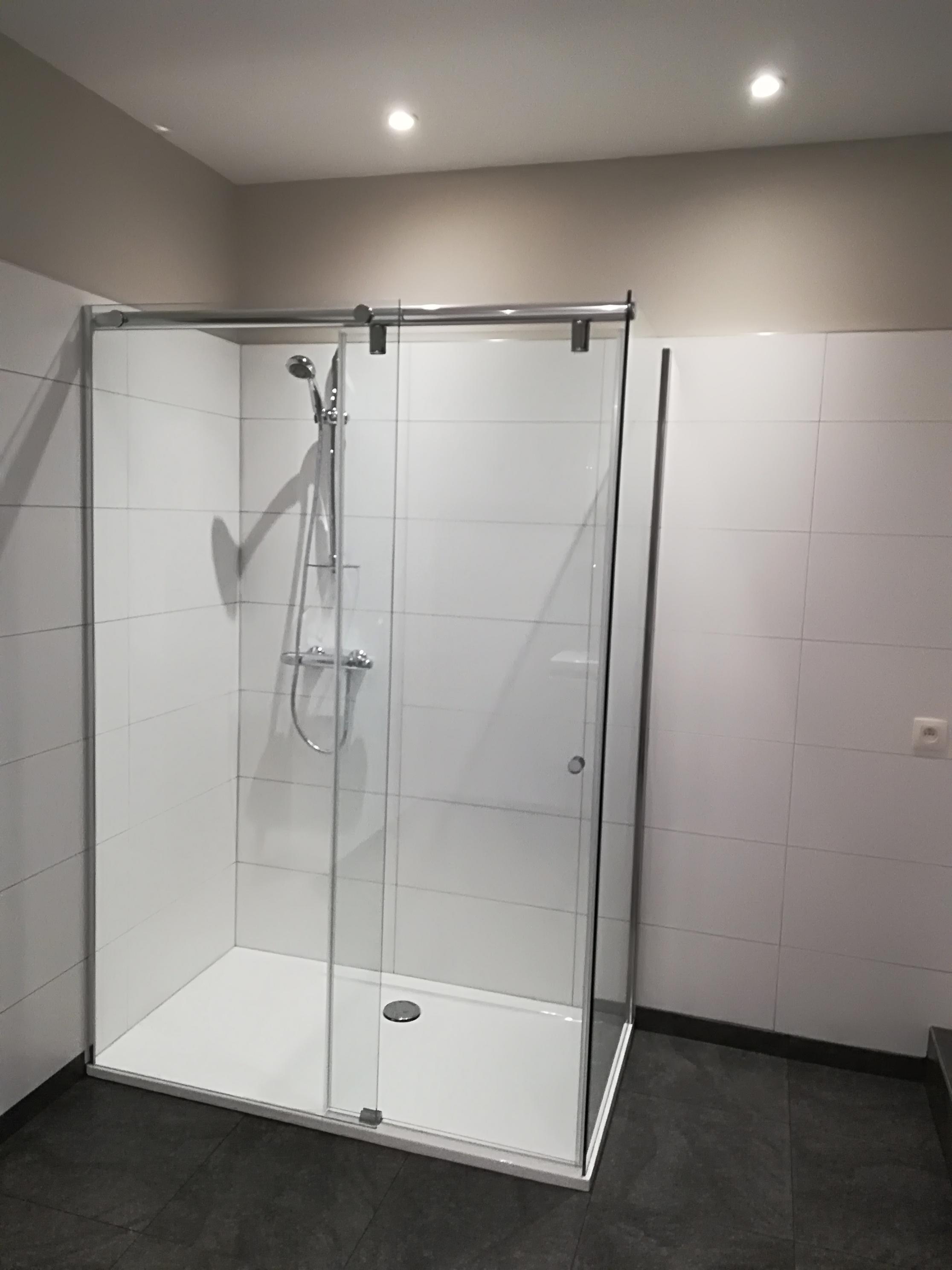 Salle de bain avant/après