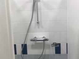 Modification d'une robinetterie encastrée