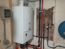 Remplacement chaudière gaz par gaz à condensation VAILLANT   AVANT/APRES