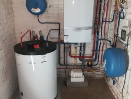 Placement chaudière gaz à condensation VAILLANT ECOTEC PLUS VC206