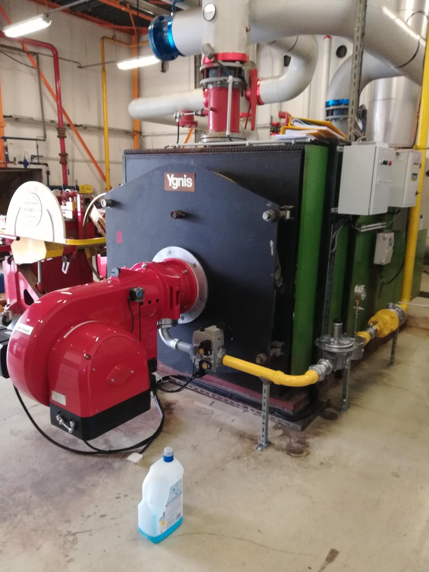 Brûleur gaz naturel WEISHAUPT pour chaudière de grosse puissance